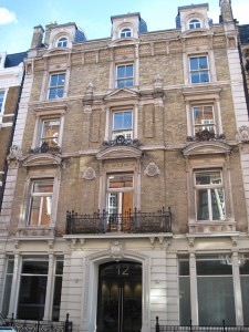 12 Henrietta St., London, where Elizabeth and Lord Francis Russell were married 100 years ago on February 11, 1916